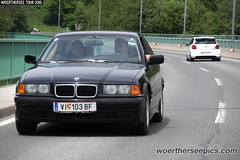 Black BMW E36 3-Series