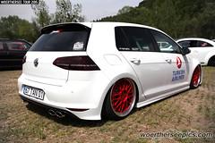 Turkish Airlines white VW Golf M7 GTI