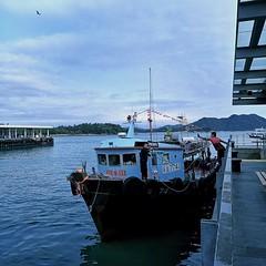 Sai Kung Pier。HK。Happy weekend @li-ra-mo