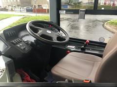 First Glasgow Cab view of 44682 YW68OWD.
