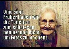 Oma sagt... :D