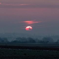Sunrise yesterday #sunrise