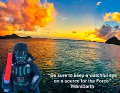 """""""Be sure to keep a watchful eye on a source for the Force"""" #MiniDarth"""