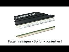 Fugentorpedo - Fugen reinigen Tipps - Fliesen Fugenreiniger...