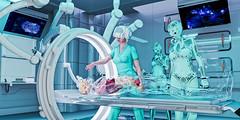 רובוט זעיר מנתח בעזרת מציאות מדומה מאת ריקי שחם