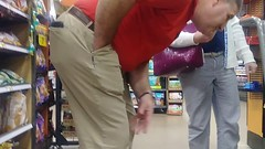 Daddy bending over