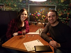 2-20-2019 at Libertine - Second place: Bonnie & Clyde (25 points)