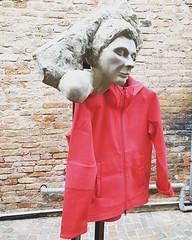 #descenteallterrain #MadeInJapan #Sweatshirts #Red #Sculpture #PietraSerena #MicheleDeConti #Treviso #LazzariStore