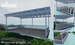 GOOSE - Waterside pergola