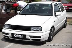 Blanz Society white VW Golf Mk3
