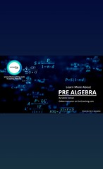 Learn more about- Pre Algebra  https://www.ourcoaching.com/study/gate-exam/mathematics/mathematics/308195   By Sahmi Usman : https://www.ourcoaching.com/user/Sahmi--Usman/84591   #ELearning #onlineCourses #OnlineTutorials #OnlineInstructor #education #pre