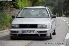 Silver VW Golf Mk3