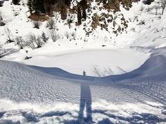 au lac d'Armancette (Haute-Savoie)