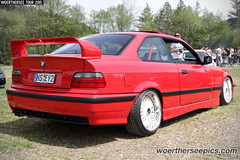 Turkish Delight Red BMW E36 Coupe