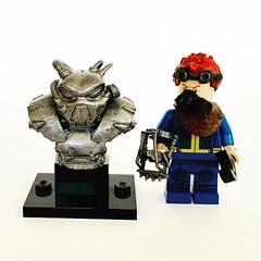 Lego Fallout Classic Enclave Advanced Power Armor Mark 2 Burst Sculpt