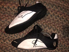 Puma wrestling/racing shoes size 12
