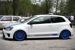 White VW Polo WRC Edition