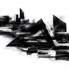 #deconstruction #stendec #wizardkings #gammaproforma #graffuturism #abstractart #geometry #freehand #linework #architecture #brutalism #dystopia #sketch #blackbook #city #hackneywick #eastlondonart #digitalart #ipadpro #procreate