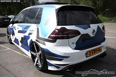 Camo wrap VW Golf Mk7 R