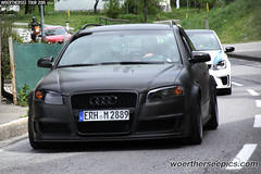 Black Audi A4