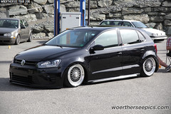 Black VW Polo