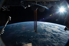 Good Morning From the Space Station!