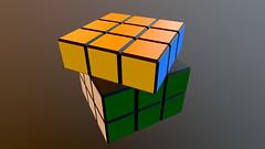 Rubiks cube Free 3D Model
