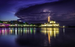mosque and lightning