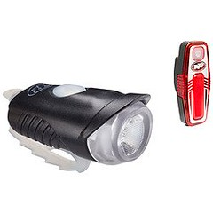 Cheap NiteRider Lightning Bug USB150 and Sabre 35 Headlight and Taillight Combo