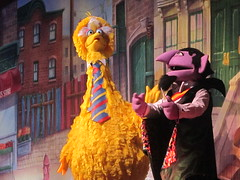 Big Bird and the Count!