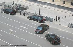 Arribo de Barack Obama