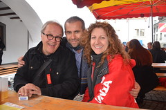 Mit Markus und Carmelina
